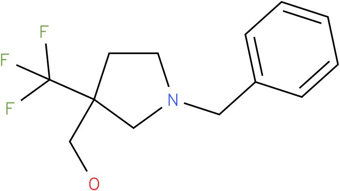 (1-Benzyl-3-trifluoromethyl-pyrrolidin-3-yl)-methanol