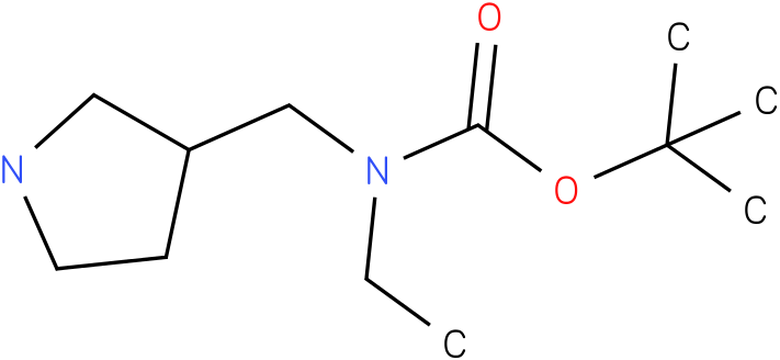 Ethyl-pyrrolidin-3-ylmethyl-carbamic acid tert-butyl ester