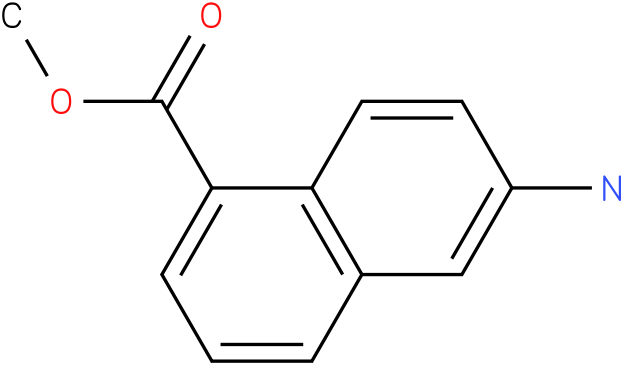 6-amino-naphthalene-1-carboxylic acid methyl ester