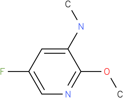 (5-Fluoro-2-methoxy-pyridin-3-yl)-methylamine