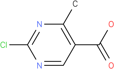 5-Pyrimidinecarboxylic acid,2-chloro-4-methyl- (9CI)