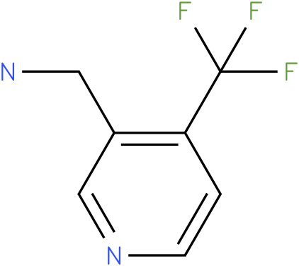 C-(4-Trifluoromethyl-pyridin-3-yl)-methylamine