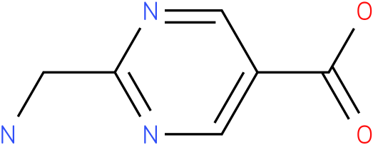 2-Aminomethyl-pyrimidine-5-carboxylic acid