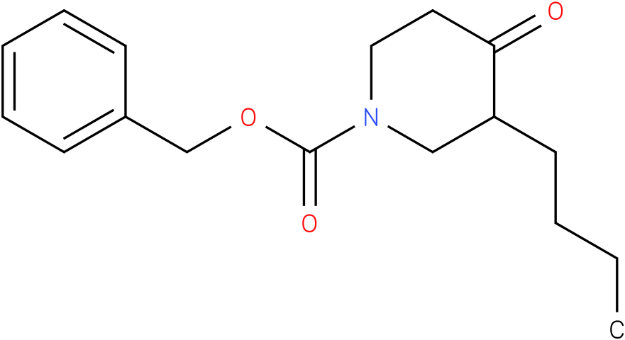 1-Cbz-3-n-butyl-piperidin-4-one