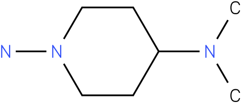 N4,N4-Dimethyl-piperidine-1,4-diamine