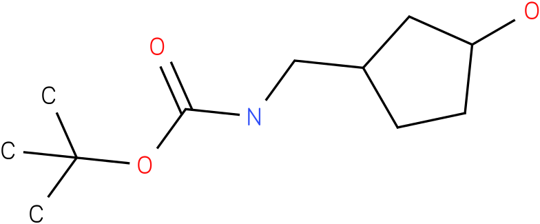 (3-Hydroxy-cyclopentylmethyl)-carbamic acid tert-butyl ester