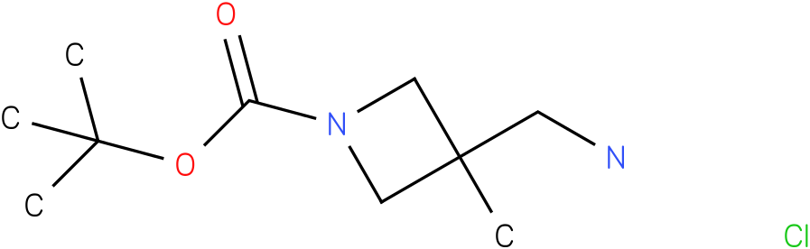 3-Aminomethyl-3-methyl-azetidine-1-carboxylic acid tert-butyl ester hydrochloride salt