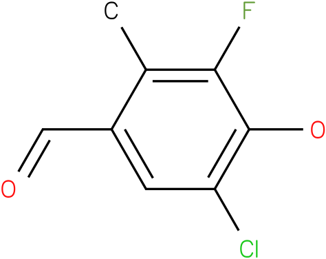 5-Chloro-3-fluoro-4-hydroxy-2-methyl-benzaldehyde