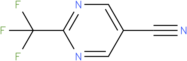 2-Trifluoromethyl-pyrimidine-5-carbonitrile