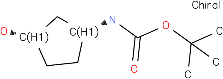 [(1R,3S)-3-Hydroxycyclopentyl]carbamic acid tert-butyl ester