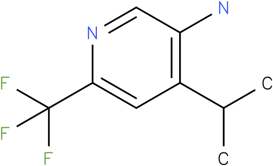 4-Isopropyl-6-trifluoromethyl-pyridin-3-ylamine