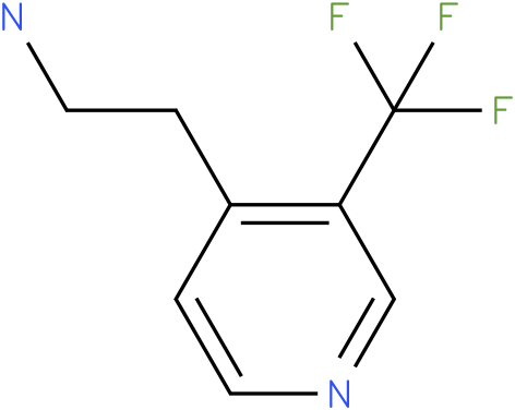 2-(3-Trifluoromethyl-pyridin-4-yl)-ethylamine