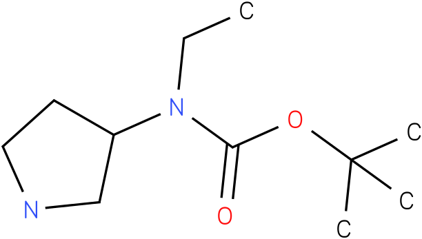Ethyl-pyrrolidin-3-yl-carbamic acid tert-butyl ester