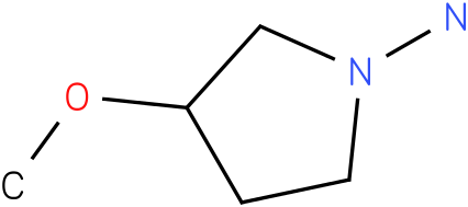 3-Methoxy-pyrrolidin-1-ylamine