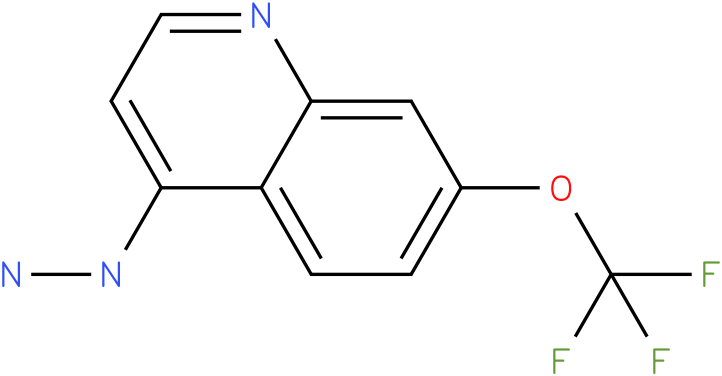 4-hydrazinyl-7-(trifluoromethoxy)quinoline