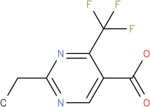 2-Ethyl-4-trifluoromethyl-pyrimidine-5-carboxylic acid