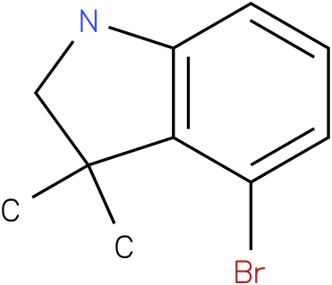 4-bromo-3,3-dimethylindoline