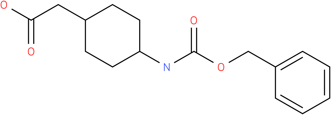 (4-Benzyloxycarbonylamino-cyclohexyl)-acetic acid