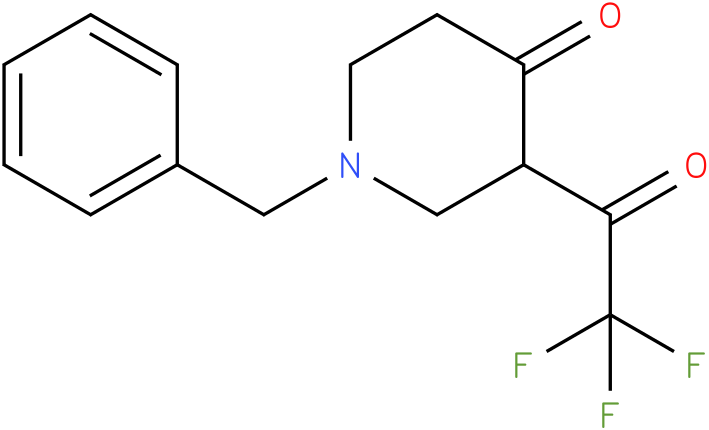 1-BENZYL-3-(TRIFLUOROACETYL)PIPERIDIN-4-ONE