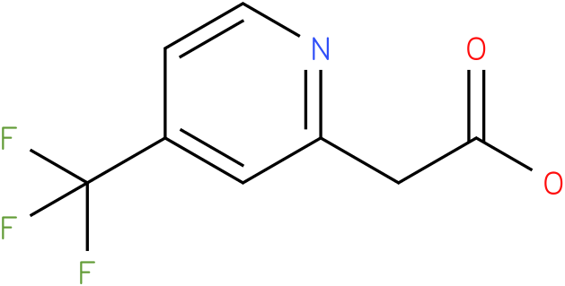(4-Trifluoromethyl-pyridin-2-yl)-acetic acid