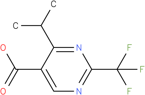 4-Isopropyl-2-trifluoromethyl-pyrimidine-5-carboxylic acid