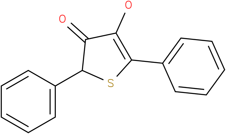 3-Oxo-4-hydroxy-2,5-diphenyl-2,3-dihydrothiophene