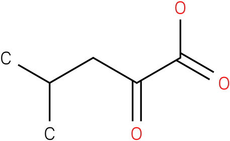 4-Methyl-2-oxovaleric Acid