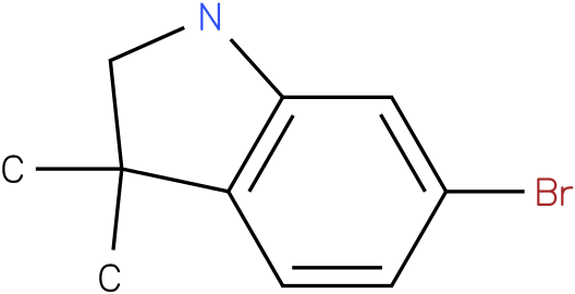 6-bromo-3,3-dimethylindoline
