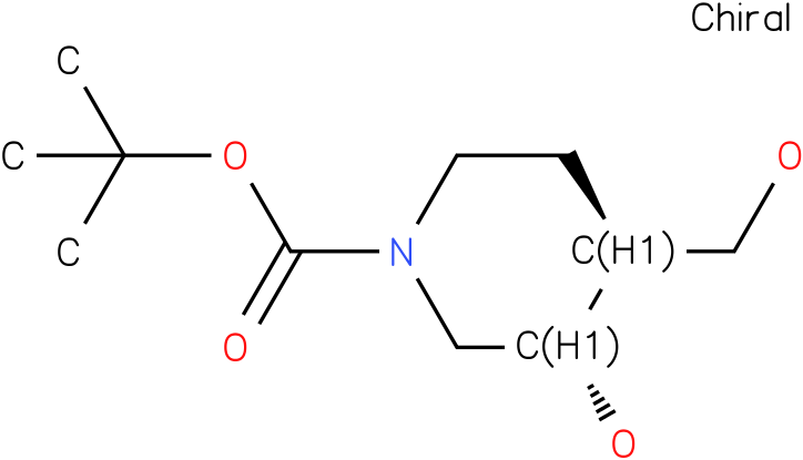 3S,4S-3-Hydroxy-4-hydroxymethyl-piperidine-1-carboxylic acid tert-butyl ester