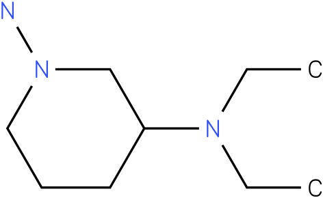 N3,N3-Diethyl-piperidine-1,3-diamine