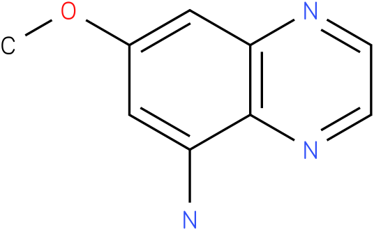 7-Methoxy-quinoxalin-5-ylamine