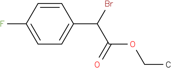 Bromo-(4-fluoro-phenyl)-acetic acid methyl ester