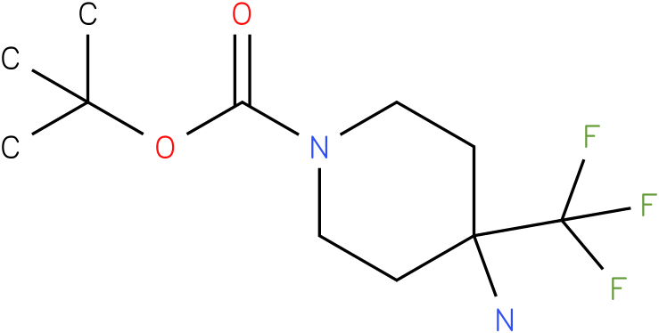 4-Amino-4-trifluoromethyl-piperidine-1-carboxylic acid tert-butyl ester