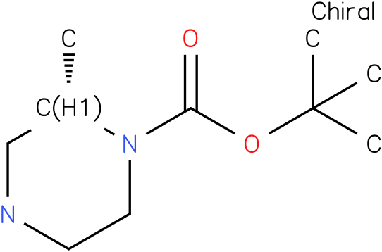 (S)-1-N-Boc-2-methyl piperazine