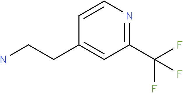 2-(2-Trifluoromethyl-pyridin-4-yl)-ethylamine