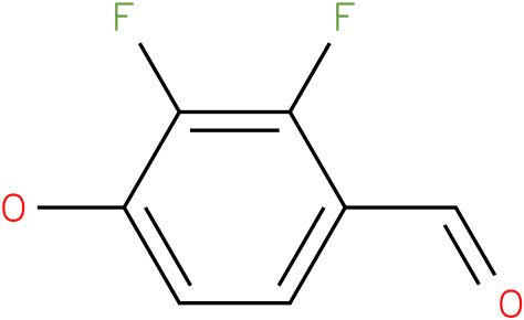 2,3-Difluoro-4-hydroxy-benzaldehyde