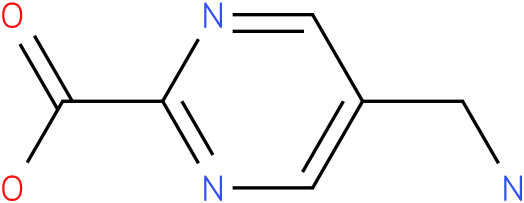 5-Aminomethyl-pyrimidine-2-carboxylic acid