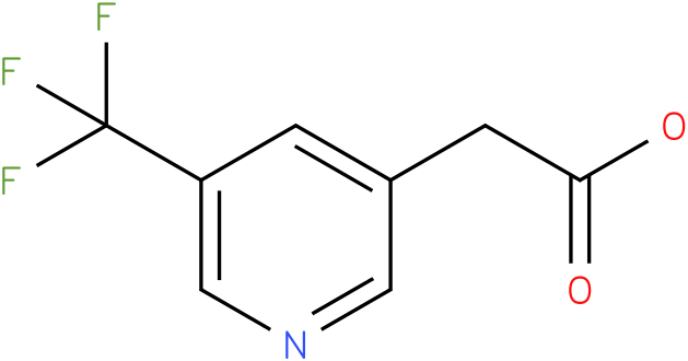 (5-Trifluoromethyl-pyridin-3-yl)-acetic acid