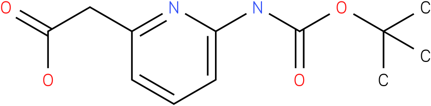 (6-tert-Butoxycarbonylamino-pyridin-2-yl)-acetic acid