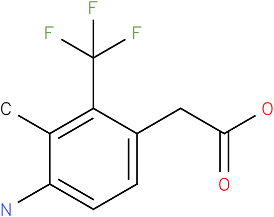 (4-Amino-3-methyl-2-trifluoromethyl-phenyl)-acetic acid