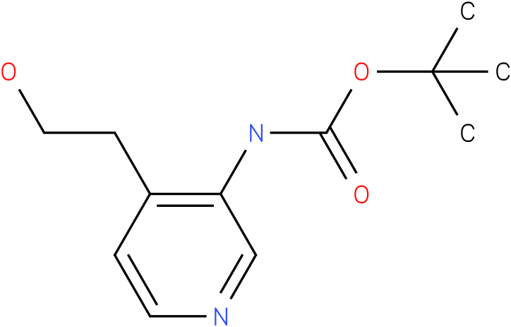[4-(2-Hydroxy-ethyl)-pyridin-3-yl]-carbamic acid tert-butyl ester