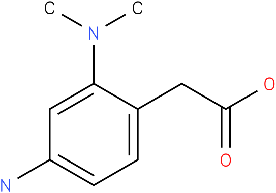 (4-Amino-2-dimethylamino-phenyl)-acetic acid