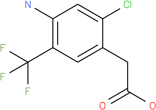 (4-Amino-2-chloro-5-trifluoromethyl-phenyl)-acetic acid