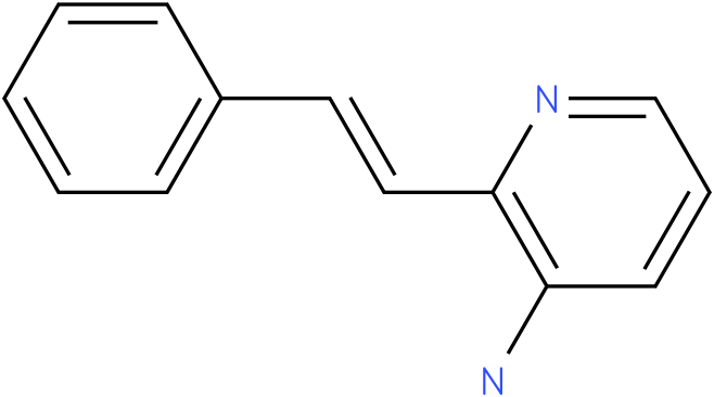 3-Pyridinamine,2-(2-phenylethenyl)-
