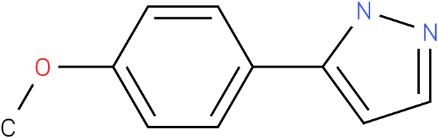 3-(4-methoxyphenyl)-1H-pyrazole