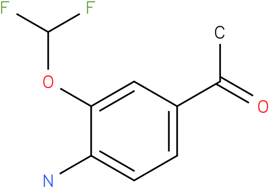 1-(4-Amino-3-difluoromethoxy-phenyl)-ethanone
