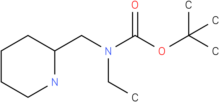 Ethyl-piperidin-2-ylmethyl-carbamic acid tert-butyl ester