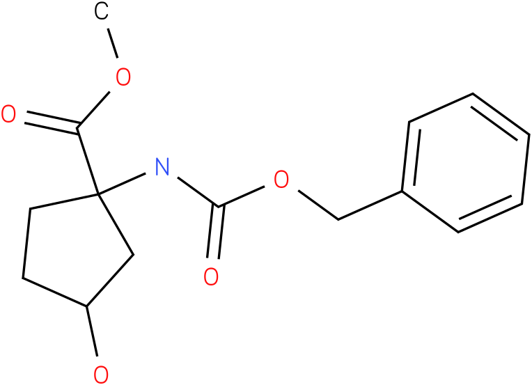 1-Benzyloxycarbonylamino-3-hydroxy-cyclopentanecarboxylic acid methyl ester