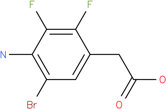 (4-Amino-5-bromo-2,3-difluoro-phenyl)-acetic acid