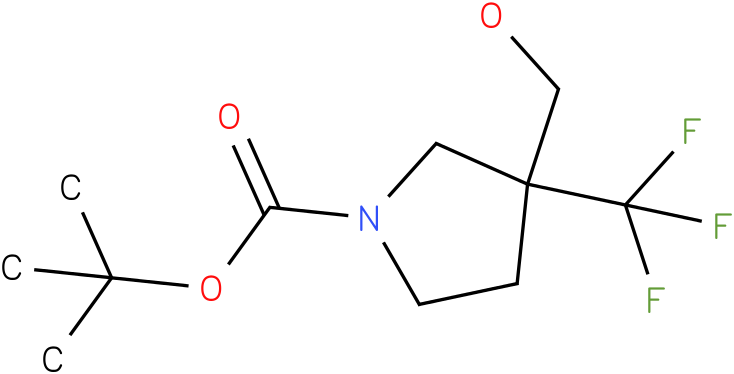 3-Hydroxymethyl-3-trifluoromethyl-pyrrolidine-1-carboxylic acid tert-butyl ester